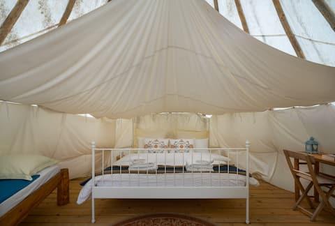 Linden Tree Retreat & Ranch - Lakota tipi 1