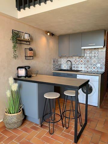 Appartement duplex quartier Maillol