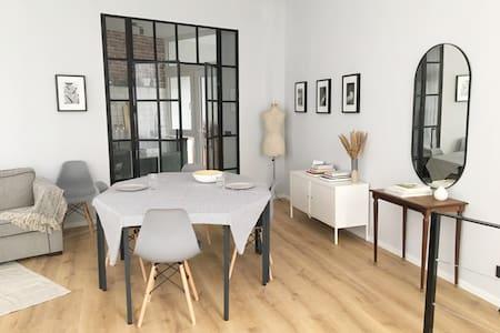 Modern, ground floor apartment in EU district