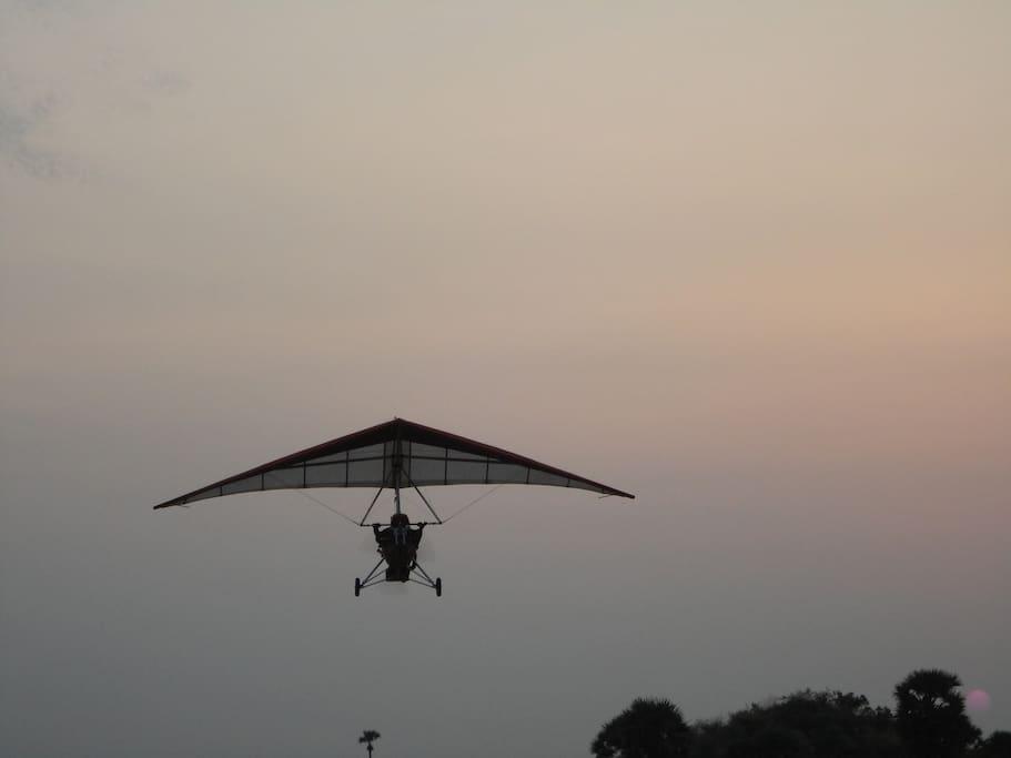 Power Hang glider