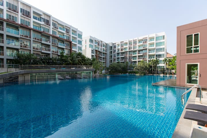 Pool view apartment in seacraze - Hua Hin - Apartament