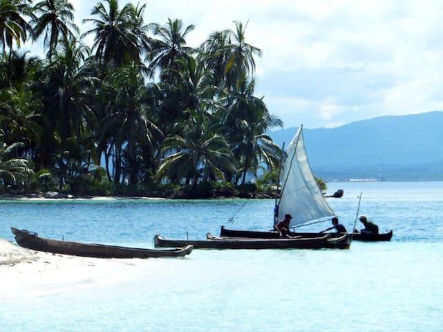 El paraíso de las islas de San Blas en velero