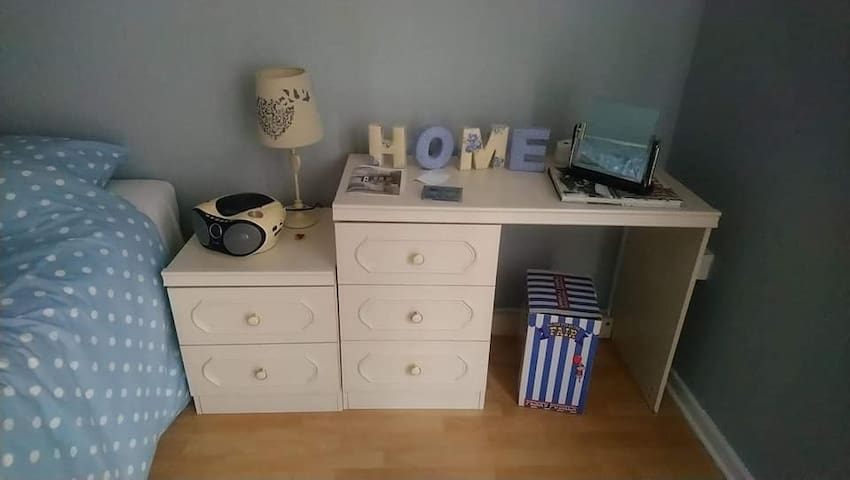 Newly decorated bedroom in Manchester