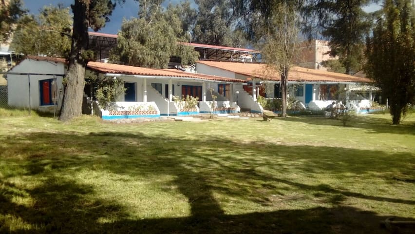 Bungalows Las Retamas cerca del centro de Huaraz