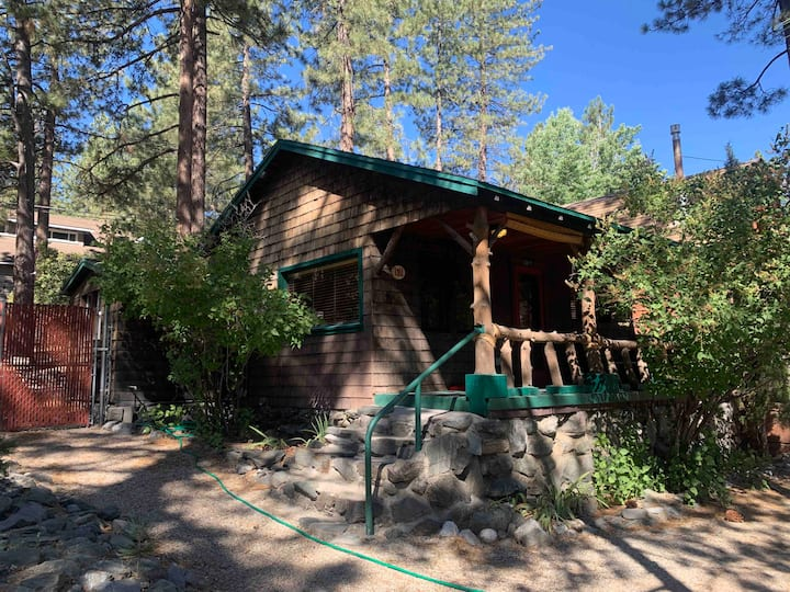 Peaceful Pines,fireplace/firepit, fenced for pets
