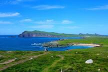 Sybil Head ( Ceann Sibéal) and Firtear's Cove on the Slea Head Drive