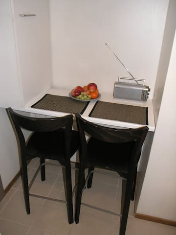Place for dining  2 pers.