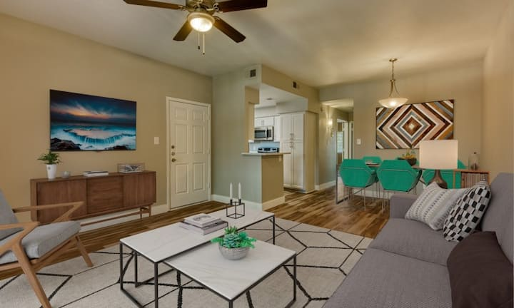 Live + Work + Stay + Easy | 2BR in Tempe