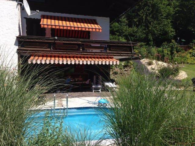 Landhaus Tamberg mit Pool am Steyrfluss