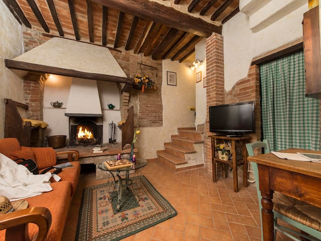Casa Costanza - Large panoramic 2bdr Val d'Orcia - 卡斯蒂廖內多爾恰(Castiglione d'Orcia) - 公寓