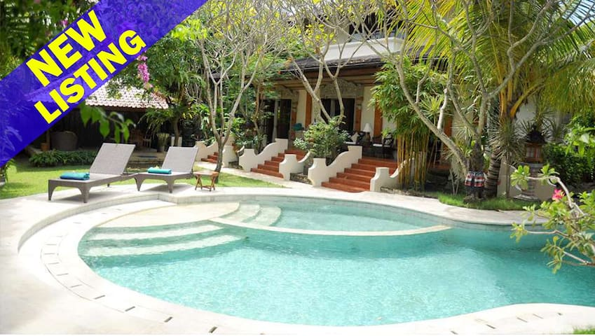 3 Bedroom Villa 5Mins Walk to 66 Beach;
