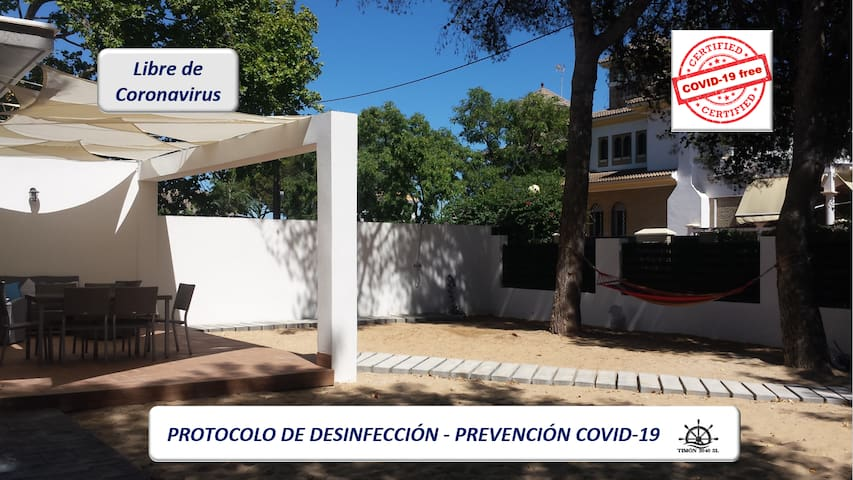 """Charming Bungalow in the """"Punta de los Ingleses"""""""