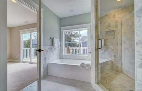 New Construction - Private Beach & Water Views
