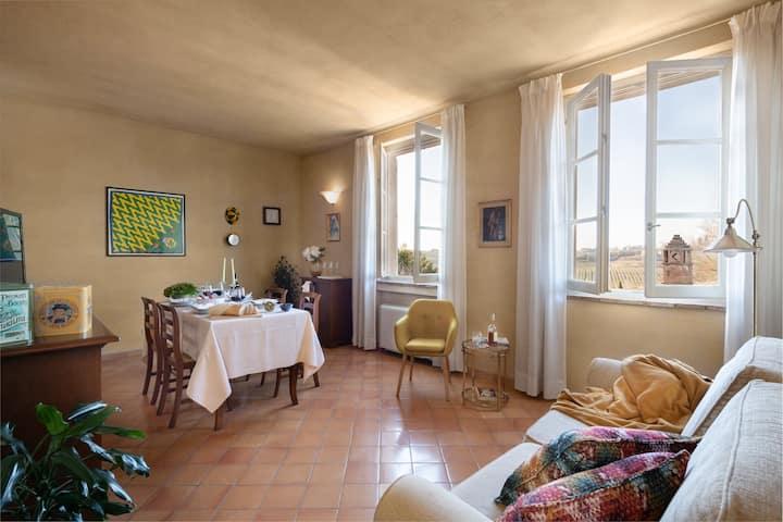 """Apartment in historic Villa in Siena_""""LE CONTRADE"""""""