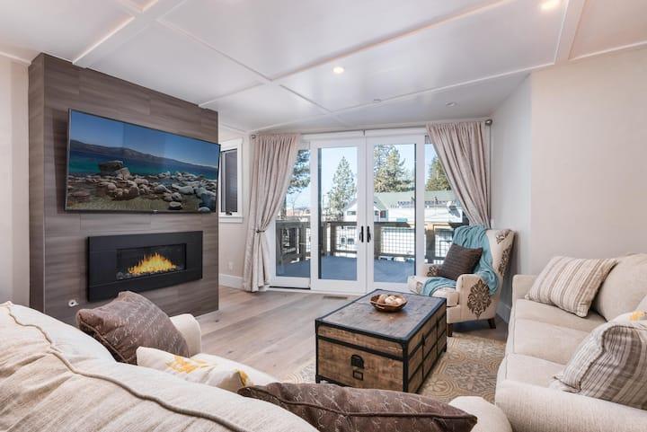 Beachfront Retreat with Deck: Near Skiing, Casinos