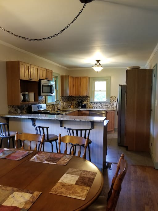 Eating and Kitchen areas