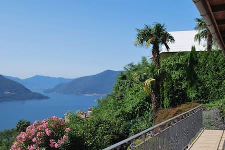A nice view, panorama over Maggiore - Ronco sopra Ascona