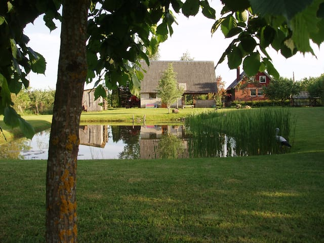 Quiet place with chance to know Latvian traditions