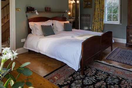 Coombe Farm Goodleigh B&B - Green room - Goodleigh - Bed & Breakfast