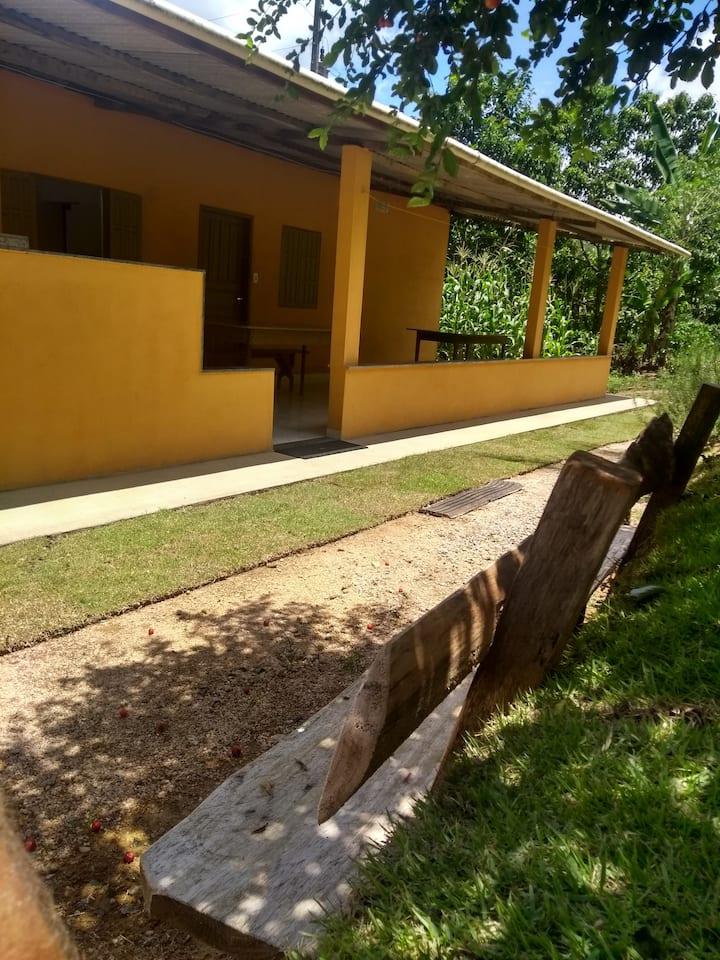 Casa de campo inteira até 8 pessoas - Vargem Alta