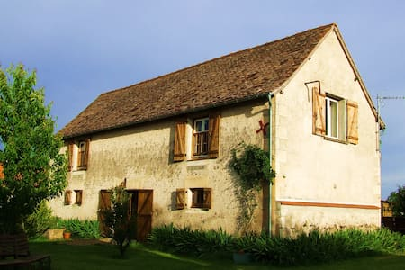 Converted barn for 8 with pool near Nalliers - Nalliers