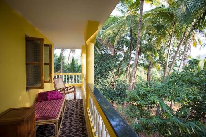 Stylish 5BD Guesthouse-Jungle Views, Agonda beach - Agonda - เกสต์เฮาส์