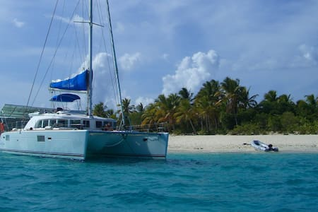 Catamaran All Incl BVI/USVI 4 cabs up to 8 guests
