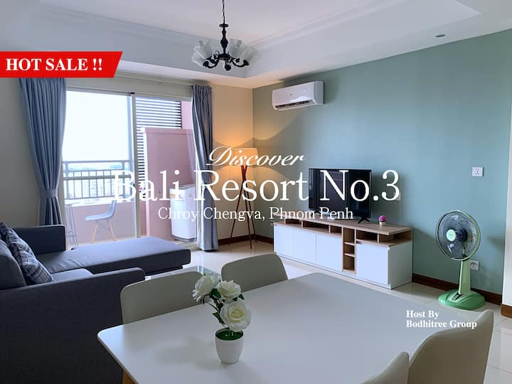 16B8_BigApartment/1BR/Grand View/Nice Gym and Pool