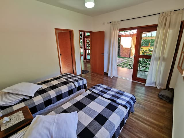 Ground Floor En-Suite in Ycatu BeachHouse