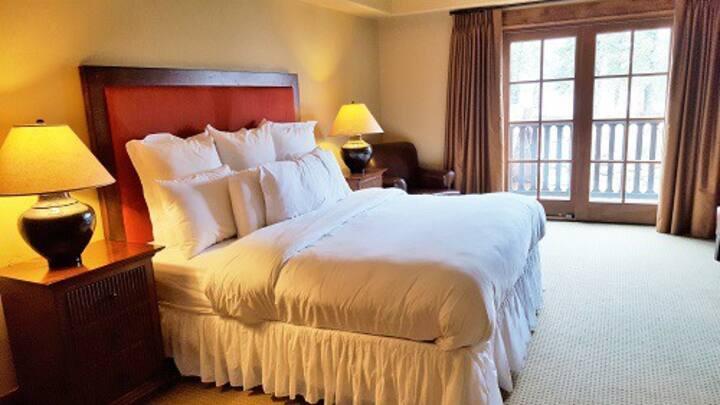 Lodge King Room 316 | Tamarack Resort | Sleeps 2