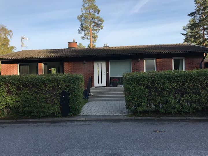 Our beautiful home 30 minutes from Stockholm city
