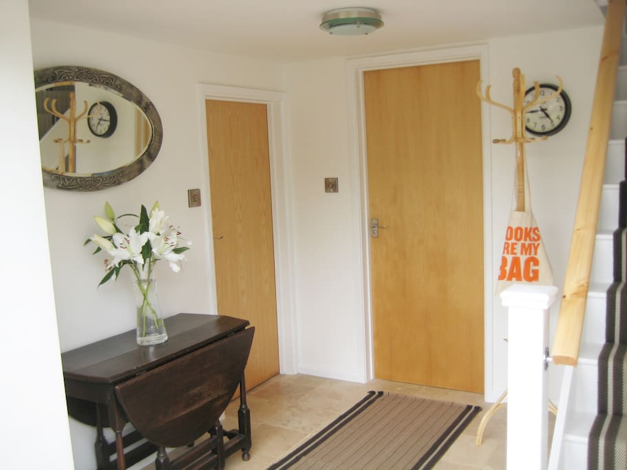 Entrance Hall leading to Bedroom and Shower Room