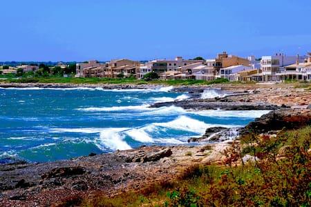 Habitación en chalet grande a 400 metros del mar!! - Sa Ràpita - บ้าน