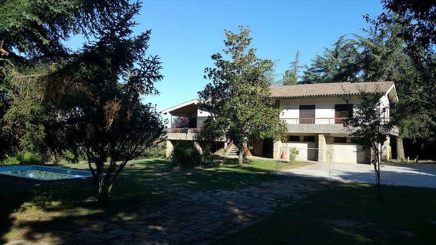 Chalet ideal para encuentros familiares - Sant Julià de Vilatorta - Chalé