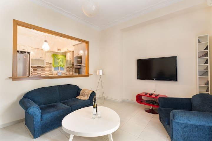 Sunny Floor Apartment 140m2 near Center