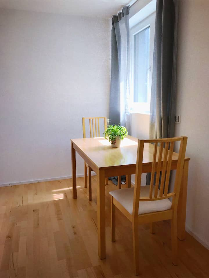 ..Private fully furnished studio in Konstanz..
