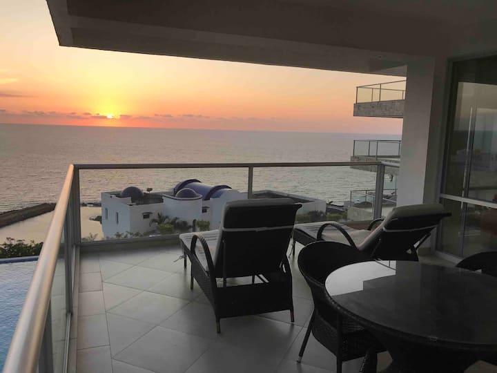 Luxury apartment at Same beach