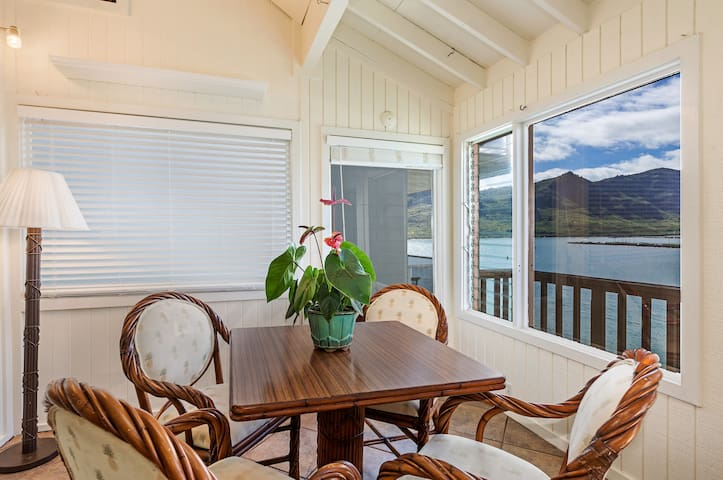 Oceanfront Dining overlooking Kalapaki Bay