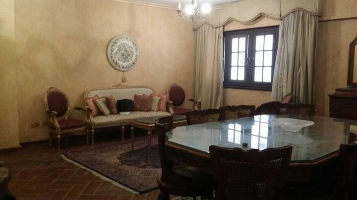 Luxury furnished apartment Smouha near Pharos Univ