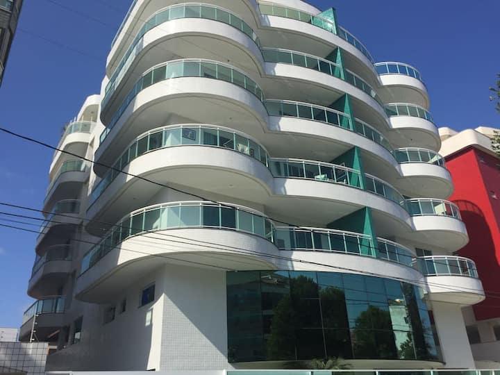 Apartamento 2 quartos à 100 metros da praia