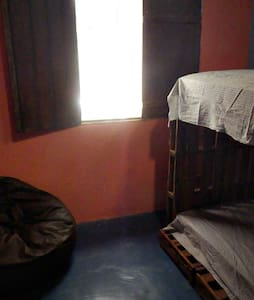 Bed in a Double Shared Bedroom - 伊塔卡雷(Itacaré)