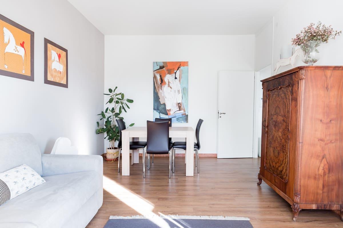 Gina's Apartment, Lovable Studio Outside Central Venice