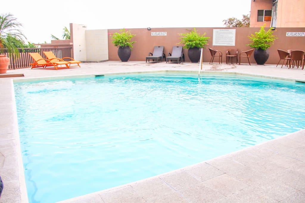 Sp904b 1br near ayala mango with swimming pool Cebu hotels near ayala with swimming pool