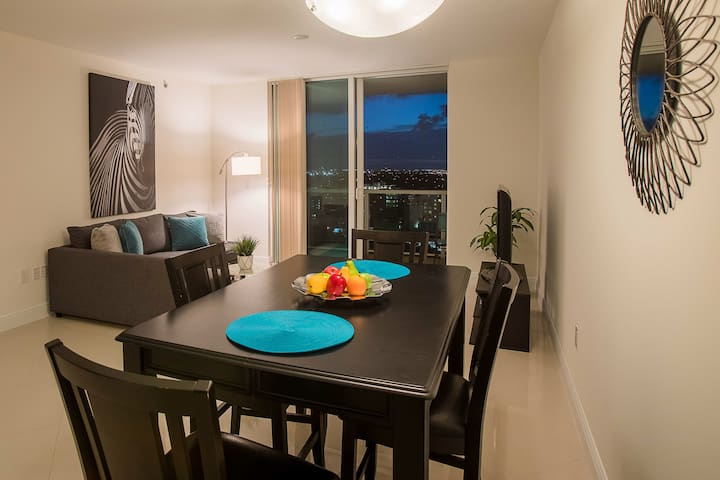 Luxury Apt in Downtown Miami with free parking