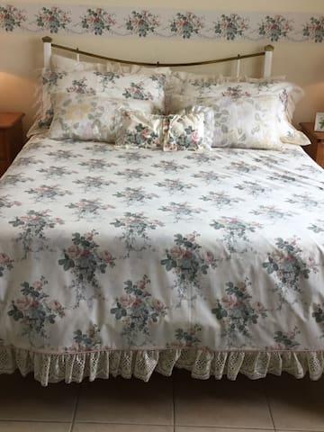 The second en-suite bedroom