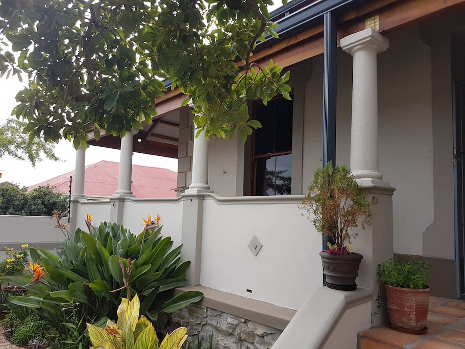 Wrap around Verandah leading to Guest Suite