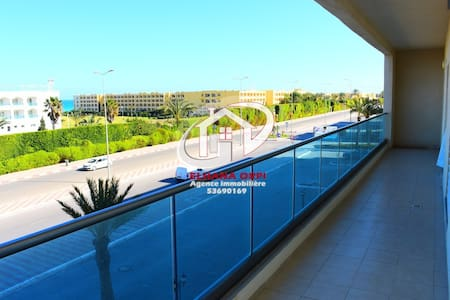 Appartement Zone touristique Mahdia vue sur mer