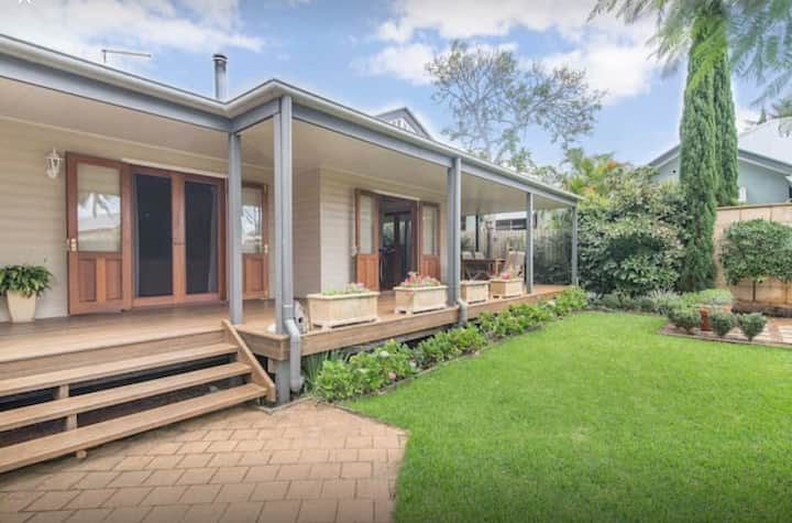 Rural retreat near Byron Beaches for a family