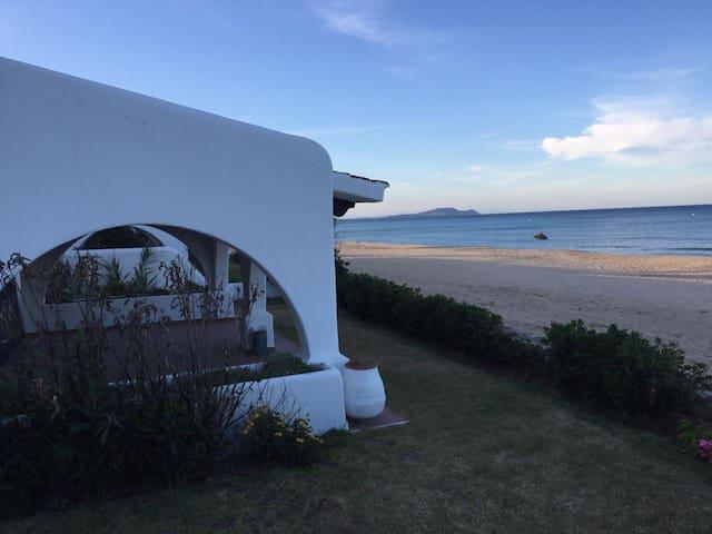 Mediterranean Beachfront Villa
