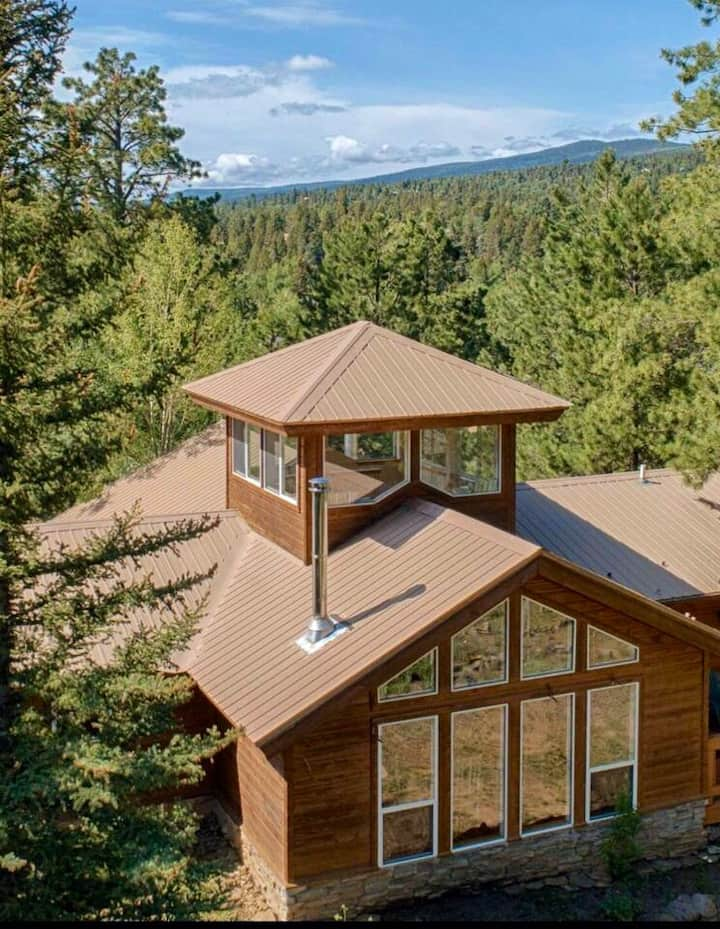 Mountain Retreat with Lookout Tower